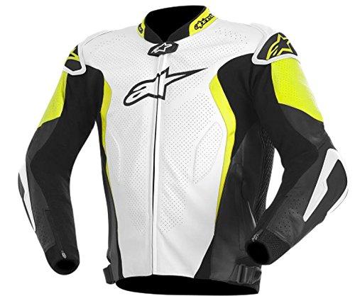ALPINESTARS GP Tech Jacket Leather BlackYellowWhite Large