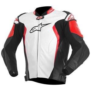Alpinestars GP Tech 2015 Leather Jacket WhiteBlackRed 52 EUR