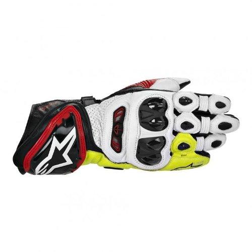 Alpinestars GP Tech Gloves - MediumBlackWhiteYellow