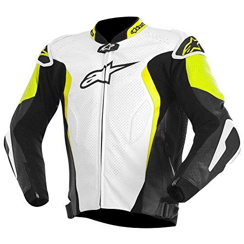 Alpinestars GP Tech Leather Jacket 50 WHITEBLACKYELLOW