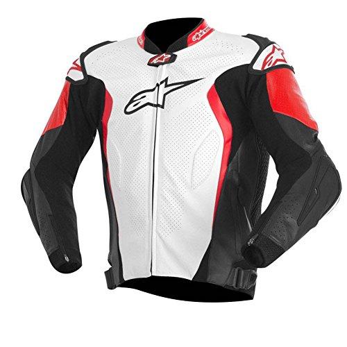Alpinestars GP Tech Leather Jacket WHITEBLACKRED