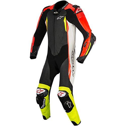 Alpinestars GP Tech Mens 1-Piece Street Race Suits - BlackWhiteRedYellow  54