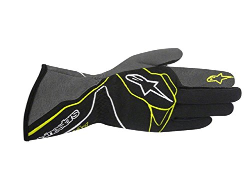 Alpinestars TECH 1-Z Gloves BlackAnthraciteFluorescent Yellow X-Large
