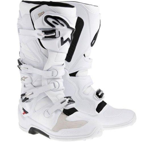 Alpinestars Tech 7 White MX Boots - Size 13