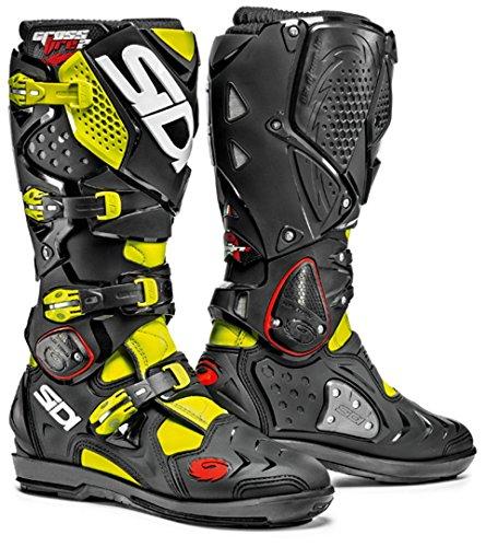 Sidi Crossfire 2 SRS Offroad Boots Yellow Black US 10