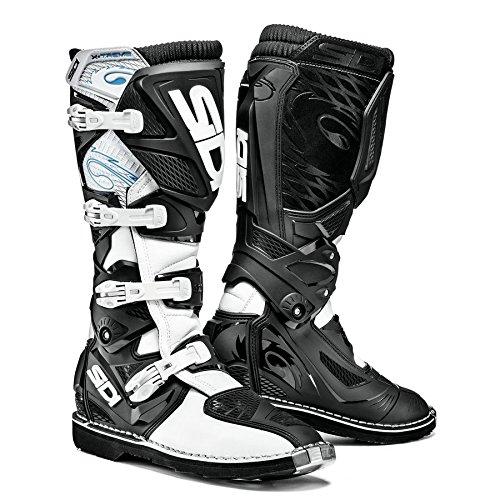 Sidi X-3 TA Off Road Motorcycle Boots WhiteBlack US10EU44 More Size Options
