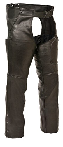 Milwaukee Mens 3 Pocket Chap with Thigh Patch Pocket Black XX-Large