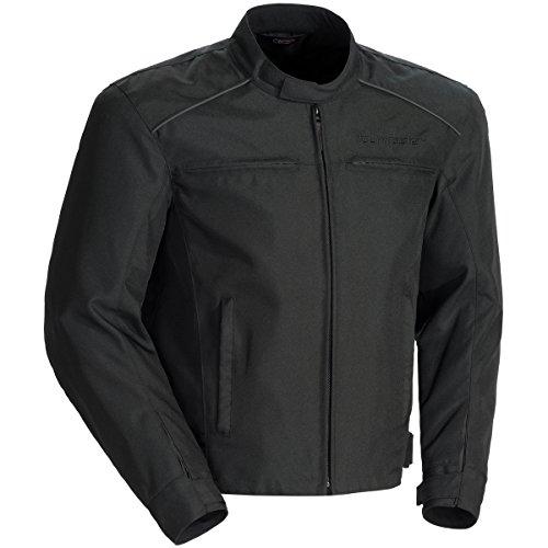 Tour Master Koraza Mens Textile Motorcycle Jacket - BlackBlack  Medium