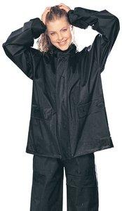 Tour Master PVC Adult 2-Piece Street Motorcycle Rain Suit - BlackBlack  Medium
