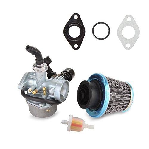 ATV Carburetor PZ19 with Fuel Filter and 35mm Air Filter for 50cc 70cc 90cc 110cc 125cc ATV Dirt Pit Bike Taotao Honda CRF By LIAMTU