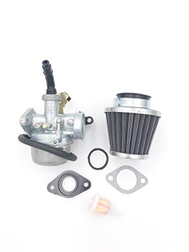 JOYII PZ19 Carburetor with Fuel Filter and 35mm Air Filter for 50cc 70cc 90cc 110cc 125cc ATV Dirt Pit Bike