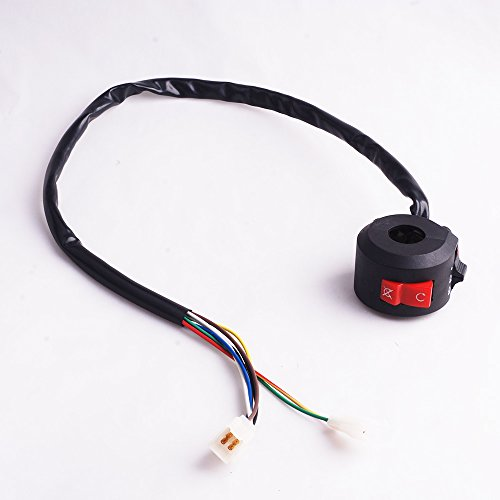 8 Wire Chinese ATV Mini Auad Left Side Control Switch 49cc 50cc 110cc 125cc 150cc