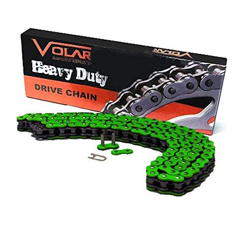 520 x 92 Links Heavy Duty Non Oring ATV Chain - Green