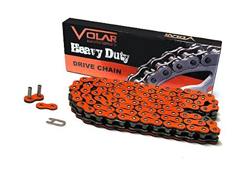 520 x 94 Links Heavy Duty Non Oring ATV Chain - Orange