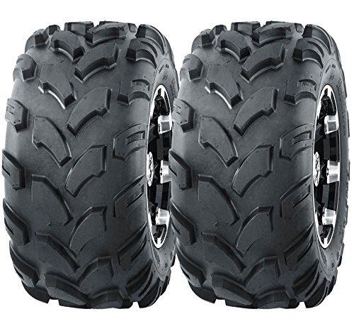 2 New WANDA Sport ATV Tires 19X7-8 4PR - 10002
