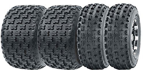 4 WANDA Sport ATV Tires 22x7-10 Front 22x10-10 Rear 4PR