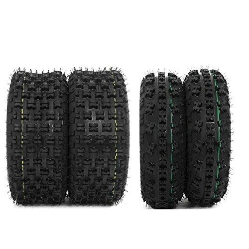Set of 4 New Sport ATV Tires 21x7-10 Front 20x10-9 Rear 4PR - P348