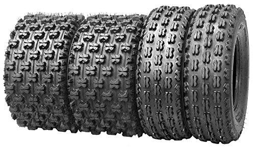 Set of 4 New Sport ATV Tires 22x7-10 Front 20x11-9 Rear 4PR - 1007710085