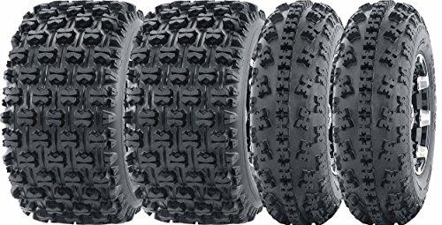 Set of 4 New Sport ATV Tires AT 23x7-10 Front 22x11-9 Rear 6PR -1006310092