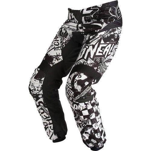 2015 ONeal Element Wild BlackWhite Pants for Motocross  Off-Road  Dirt Bike  ATV  MTB - 28