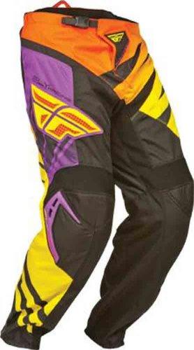 Fly Racing F-16 Youth Boys MXOff-RoadDirt Bike Motorcycle Pants - PurpleYellowBlack  Size 18