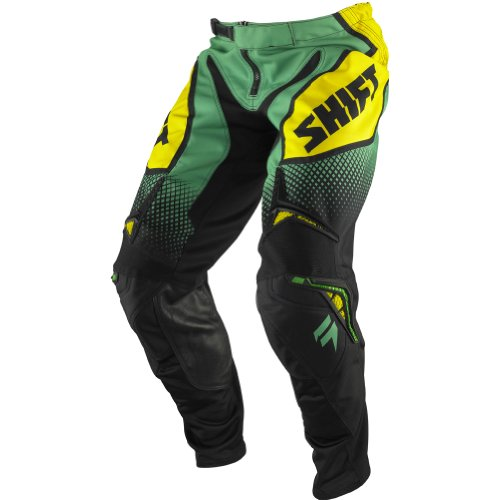 Shift Racing Strike Men's Motocross/off-road/dirt Bike Motorcycle Pants - Green / Size 36