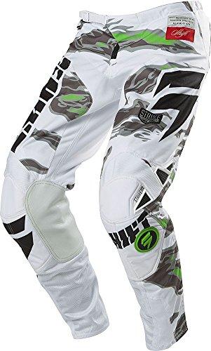 Shift Racing Strike Men's Off-road Motorcycle Pants - Black Camo / Size 36