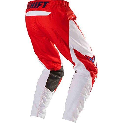 Shift Racing Strike Stripes Le Pants - 34/red