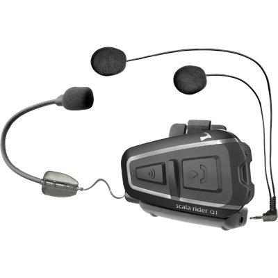 Cardo Systems Inc Q1 Teamset Scala Rider Communication Head Set Accessories - Black