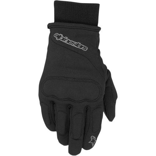 Alpinestars C-1 Windstopper Men's Waterproof Street Bike Motorcycle Gloves - Black / Large