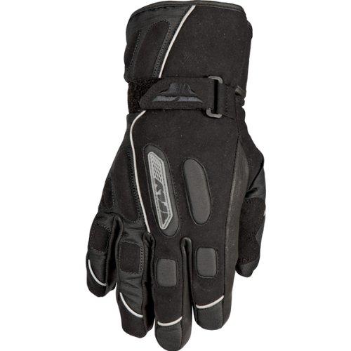 Fly Racing Trekker Men's Waterproof Street Bike Motorcycle Gloves - Black / Large