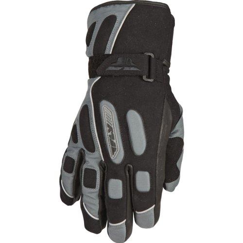 Fly Racing Trekker Men's Waterproof Street Bike Motorcycle Gloves - Gun/black / 3x-large