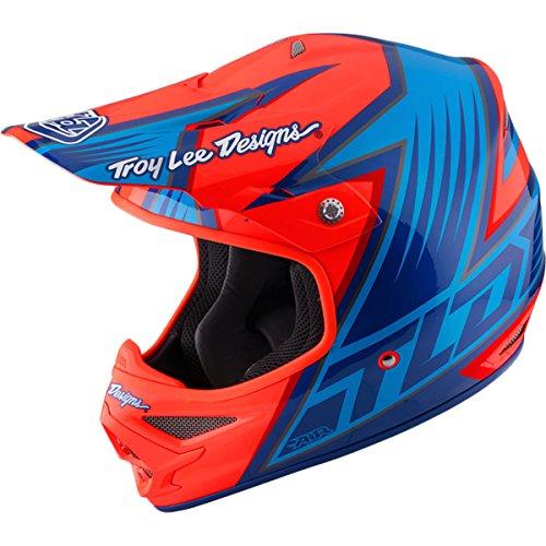 Troy Lee Designs Vengeance Adult Air Motocross Motorcycle Helmet - Orange  Medium