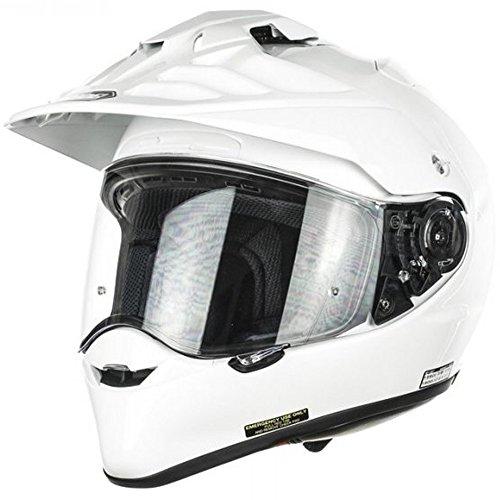 New Shoei Hornet Adv Plain White Motorcycle Helmet