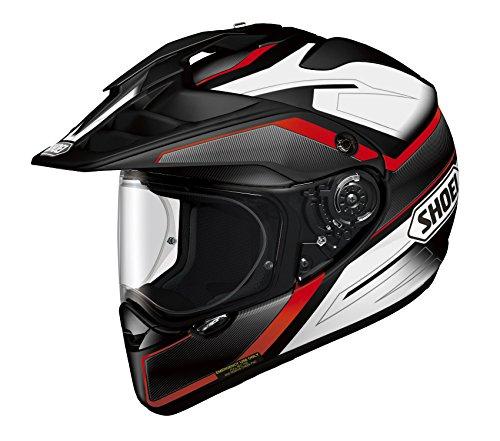 Shoei HORNET ADV SEEKER TC-1 Red Black XL 61cm Size Full Face Helmet