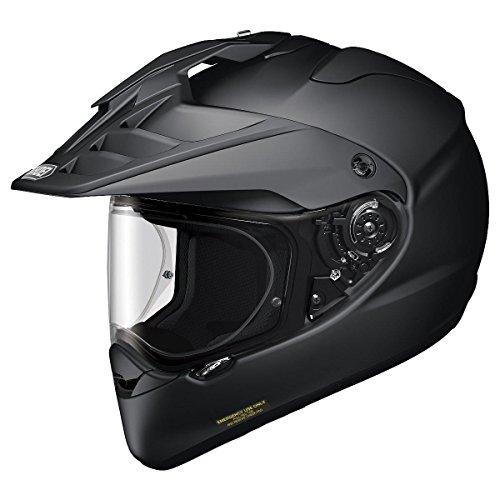 Shoei Hornet X2 Matte Black Dual Sport Helmet - Large