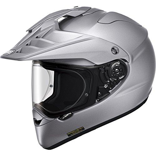 Shoei Hornet X2 Street Bike Racing Motorcycle Helmet X-Large Silver