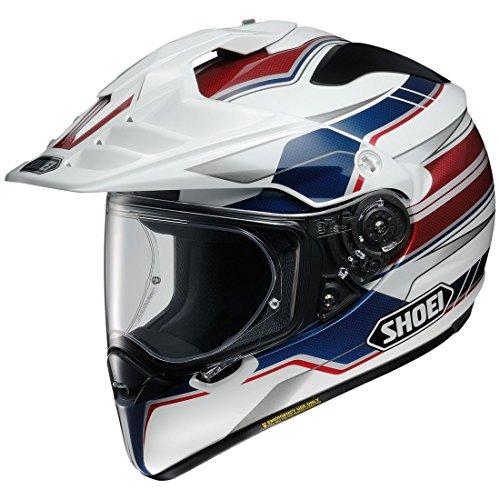 Shoei  unisex-adult full-face-helmet-style Hornet X2 Navigate Tc-2 Helmet RedWhiteBlue Large 1 Pack