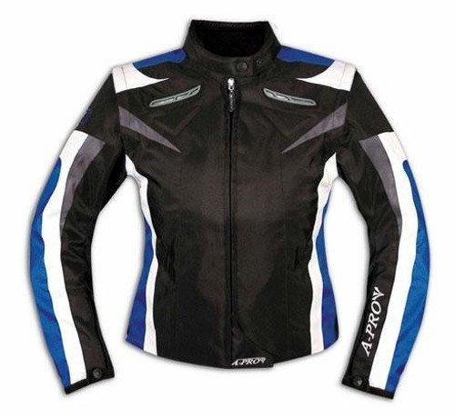 Ladies Textile Jacket Sport Racing Ce Armour Thermal Biker Motorcycle Blue S