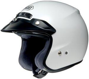 SHOEI RJ PLATINUM R SERIES CRUISER WHITE SIZEXXL Motorcycle Open-Face-Helmet