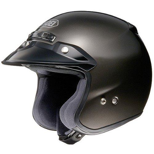 Shoei Metallic RJ-Platinum R Cruiser Motorcycle Helmet - Anthracite  Large