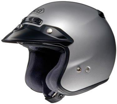 Shoei RJ Platinum-R Motorcycle Helmet Light Silver X-Large