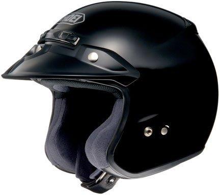 Shoei RJ Platinum R Open-Face Helmet - SmallBlack