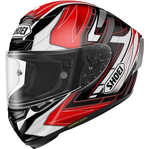 Shoei Assail X-14 Sports Bike Racing Motorcycle Helmet - TC-1  X-Large