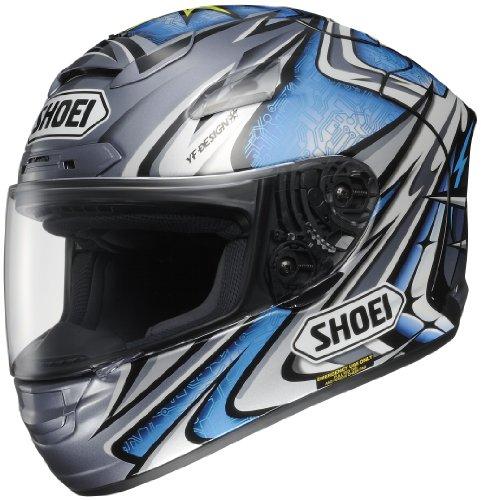 Shoei X-12 Full Face Motorcycle Helmet Daijiro TC-6 Medium M 0112-2306-05
