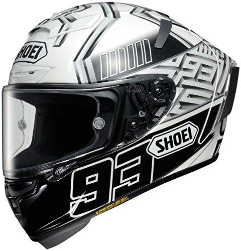 Shoei X-14 Marquez 4 Street Racing Motorcycle Helmet - TC-6  Large