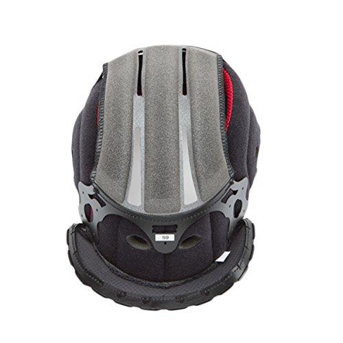 Shoei X-14 Type-I Center Pad Front S13 Street Bike Racing Motorcycle Helmet Accessories - Black One Size