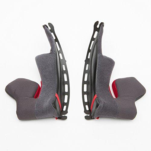 Shoei X-14 Type-I Cheek Pad 31 Street Bike Racing Motorcycle Helmet Accessories - Black One Size