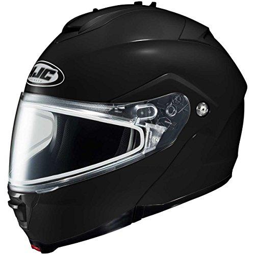 HJC Solid Adult IS-Max 2 Snocross Snowmobile Helmet - Black  3X-Large