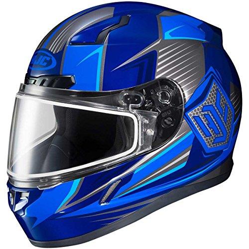 HJC Striker Adult CL-17 Snocross Snowmobile Helmet - MC-2  Medium